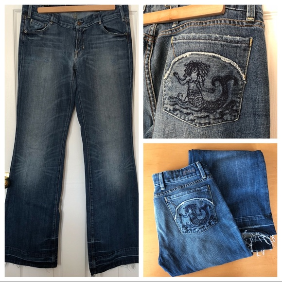 Citizens Of Humanity Denim - Citizens of Humanity Sparrow Mermaid Jeans Sz 31
